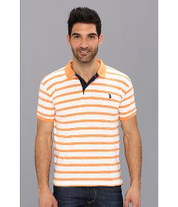 U.S. Polo Assn. - Stripe Slub Polo Shirt