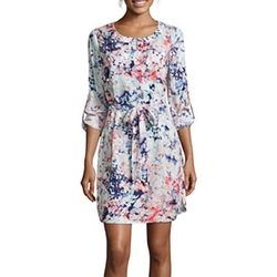 A.n.a - Print Shirtdress