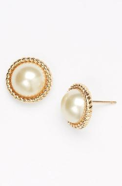 Kate Spade New York - seaport faux pearl studs
