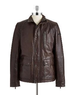 Strellson  - Dellaway Leather Jacket