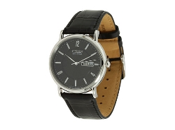 Citizen Watches - Eco-Drive Leather Watch