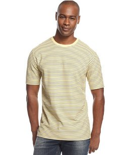 Club Room  - Striped Performance T-Shirt