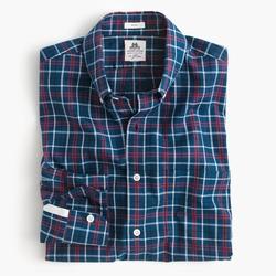 J.Crew  - Cambridge Blue Plaid Washed Shirt
