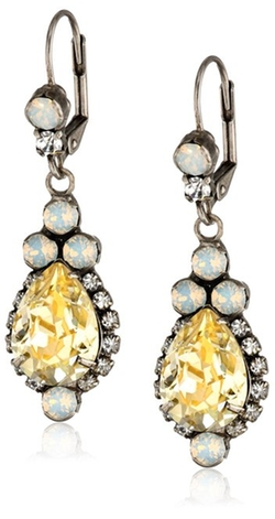 "Sorrelli - ""Lemon Zest"" Sweet Treats Earrings"