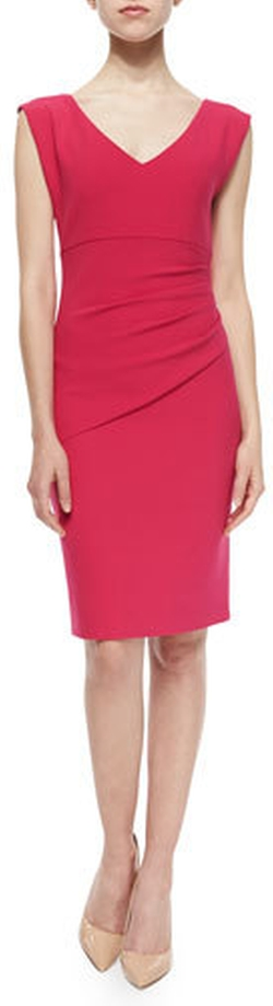 Diane von Furstenberg - Bevin Sleeveless V-Neck Sheath Dress