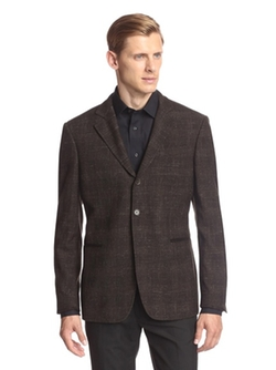 John Varvatos - Hampton With Elbow Patch Sport Coat