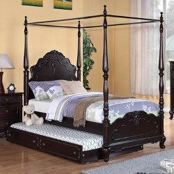 Homelegance  - Cinderella Canopy Poster Bed