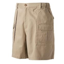 Croft & Barrow - Side Elastic Twill Cargo Shorts