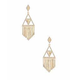 House of Harlow 1960 - Golden Hour Fringe Earrings