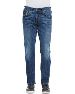 True Religion - Ricky Lakeview Denim Straight-Leg Jeans
