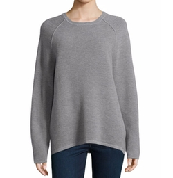 Halston Heritage - Long-Sleeve Jacquard Sweater