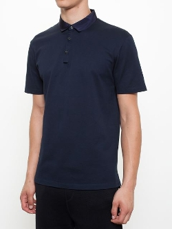 Lanvin - Grosgrain Collar Polo Shirt