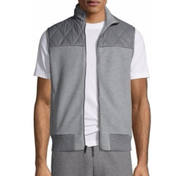 Michael Kors - Quilted Brushed-Back Vest
