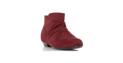 Dune London - Flat Ruched Ankle Boot