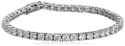 Amazon Curated Collection - Cubic Zirconia Tennis Bracelet