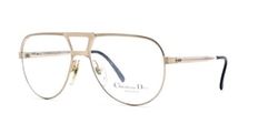 Christian Dior - Gold Authentic Men Vintage Eyeglasses