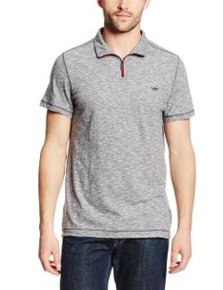 Kenneth Cole New York - Quarter-Zip Polo Shirt