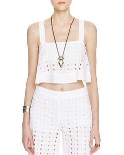 Free People - By My Side Eyelet Top