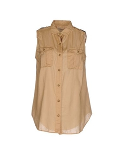 Denim & Supply Ralph Lauren - Sleeveless Button Down Shirt