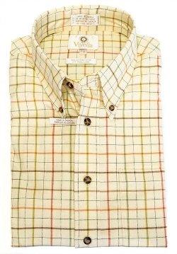 Viyella  - Honey Plaid Sport Shirt