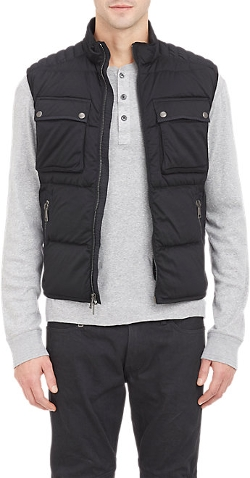 Ralph Lauren Black Label - Quilted Puffer Vest