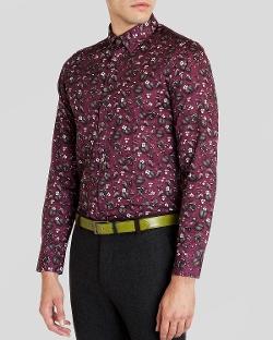 Ted Baker - Noface Floral Print Sport Shirt