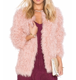 Eaves - Jeni Lamb Fur Jacket
