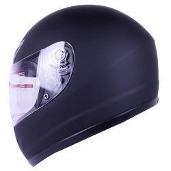 IV2 - Matte Black Full Face Motorcycle Helmet DOT +2 Visor