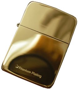 Zippo - Lighter Replica Titanium Plating