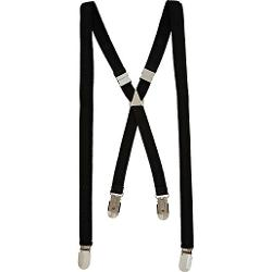 River Island - Black Suspenders