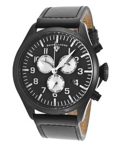 Swiss Legend - Pioneer Chrono Genuine Leather Watch