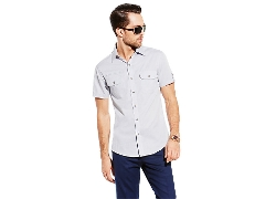 Vince Camuto - Short Sleeve Pocket Shirt