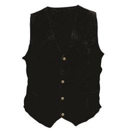 Allstate Leather - Denim Vest