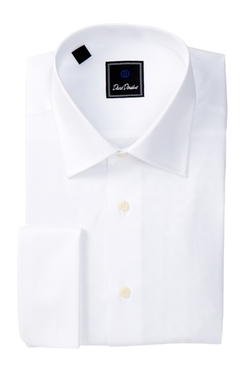 David Donahue  - Regular Fit Solid Dress Shirt