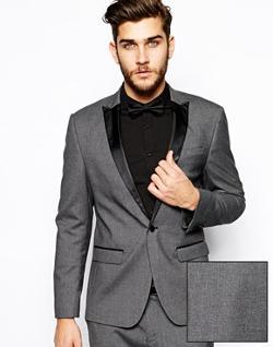 ASOS  - Slim Fit Tuxedo Suit Jacket