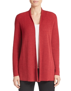 Eileen Fisher - Merino Wool Cardigan Sweater