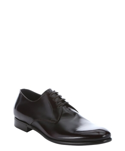 Dolce & Gabbana - Sangria Leather Lace-Up Oxford Shoes