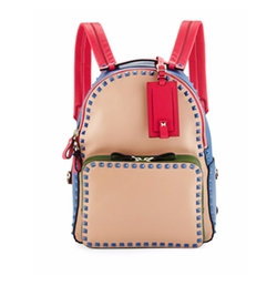 Valentino  - Rockstud Medium Four-Color Backpack