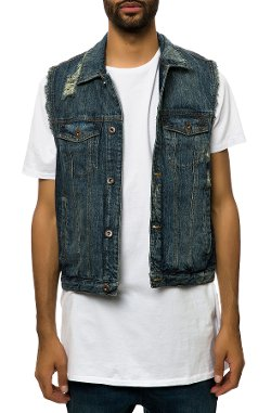 10 Deep - Triumph Denim Vest
