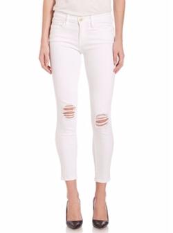 Frame - Le Skinny De Jeanne Cropped Jeans