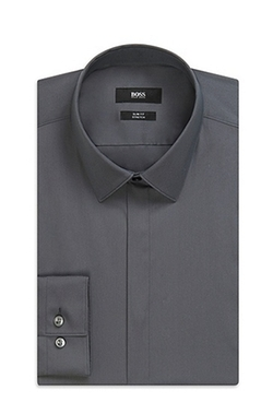 Boss - Stretch Cotton Blend Dress Shirt