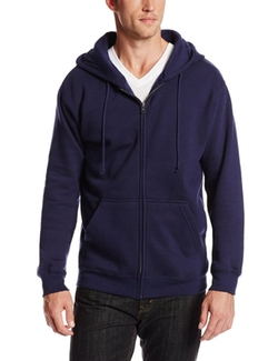 Soffe - Fleece Full-Zip Hooded Sweatshirt