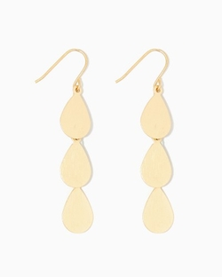 Charming Charlie - Triple Teardrop Earrings