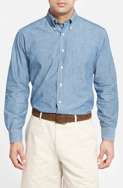 Bills Khakis  - Standard Fit Chambray Sport Shirt