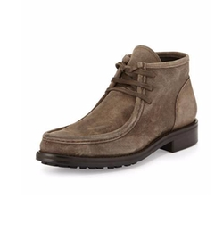 Vince  - Crawford Lugged Suede Boots
