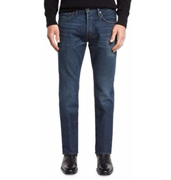 Tom Ford - Regular-Fit Selvedge Harrison Wash Denim Jeans