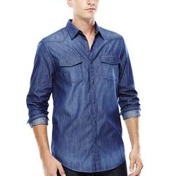 JF J. Ferrar - Western Chambray Shirt