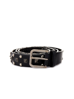 Dolce & Gabbana - Studded Leather Belt