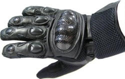 Jackets 4 Bikes - Mesh & Leather Race Gloves