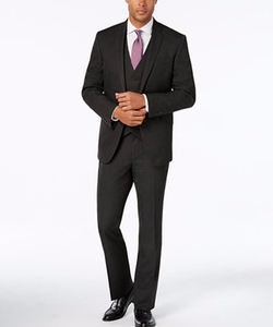 Kenneth Cole Reaction - Charcoal Vested Suit
